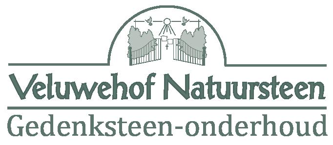 Logo Veluwehof gedenksteen onderhoud